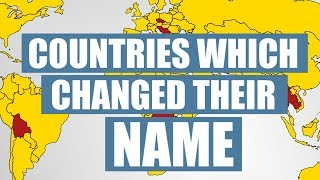 Baixar Countries Which Changed Their Names