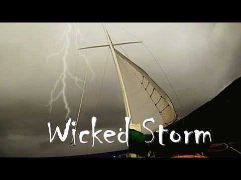 Sailing into Monster Storm   Ships Heavy Weather Insights Sailing Aulani Aloha