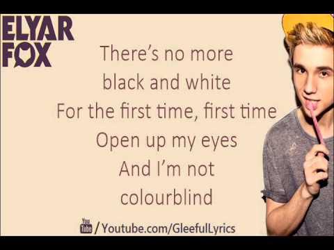 Elyar Fox - Colourblind (Lyric Video)