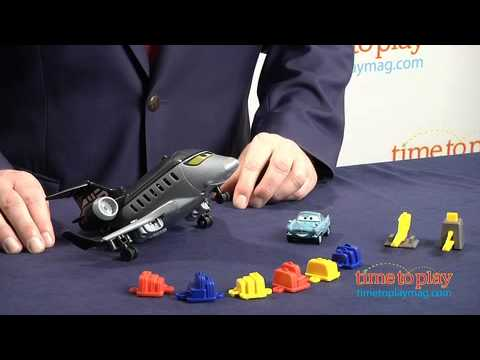 Cars Action Agents Spy Jet Getaway from Mattel