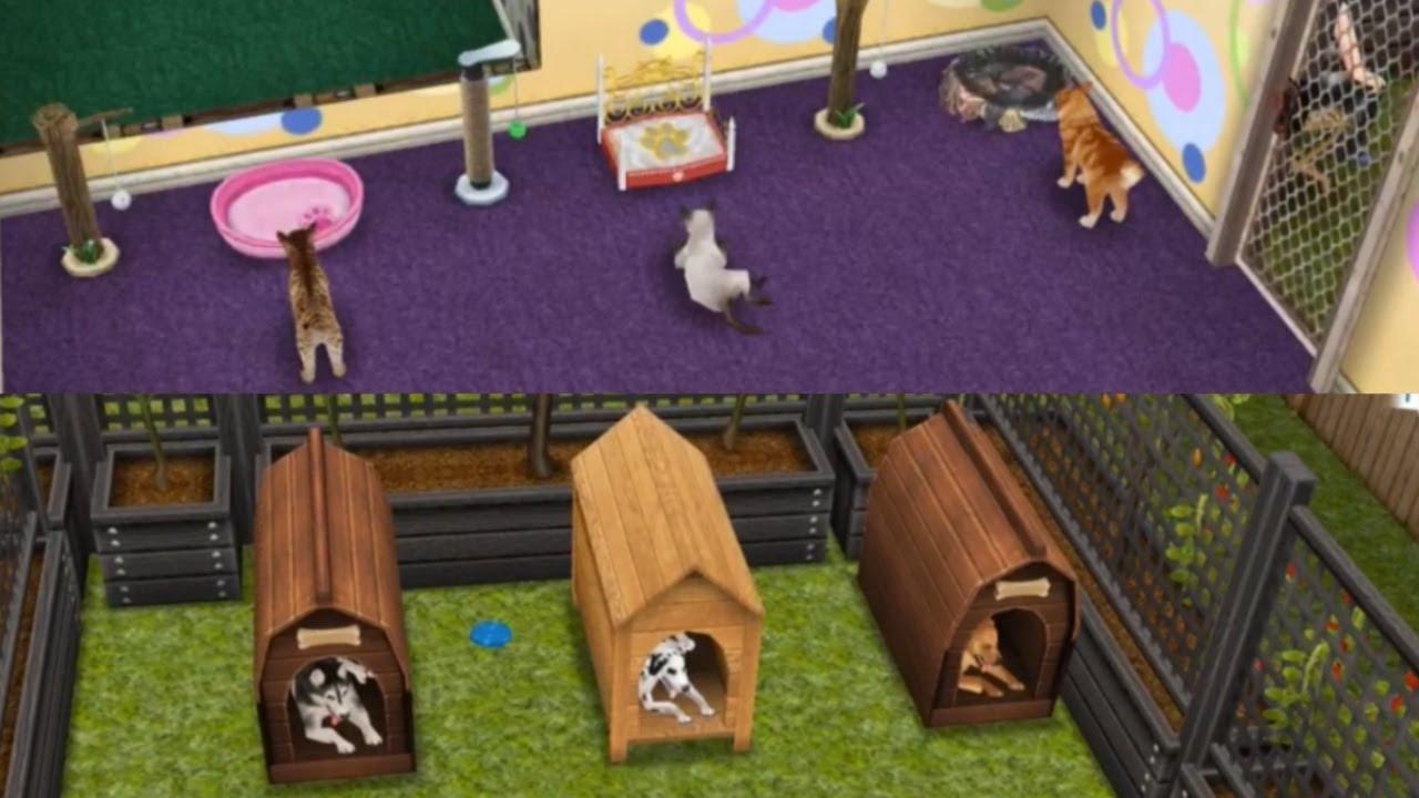 Sims gratuito c mo tener muchos perros y gatos en una for Casa de diseno the sims freeplay