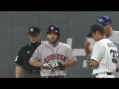 MLB@JPN: Altuve leads MLB All-Stars to win over Japan