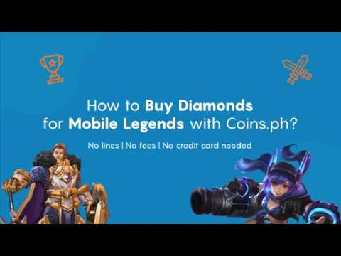 How to buy Diamonds for Mobile Legends using Coins ph?