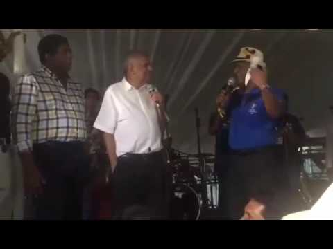 Prime Minister Ranil Wickremesinghe at the annual 138th Battle of the Blues at the SSC grounds