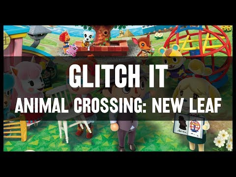 animal crossing new leaf glitches youtube