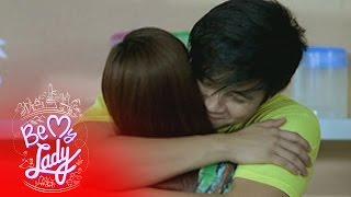 Be My Lady: Julian hugs Margarette