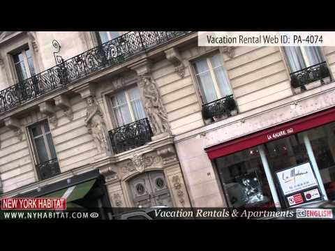 Paris, France - Video tour of a vacation rental on Rue Jacob (Saint-Germain-des-Prés)