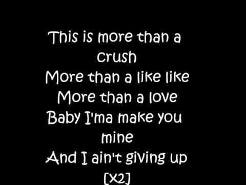 Tyler James Williams (Let It Shine)-Don't Run Away Lyrics