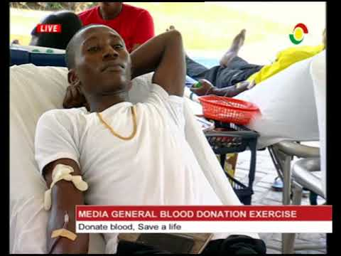 MEDIA GENERAL BLOOD DONATION
