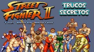 SNES Street Fighter 2 The World Warrior - Trucos Secretos