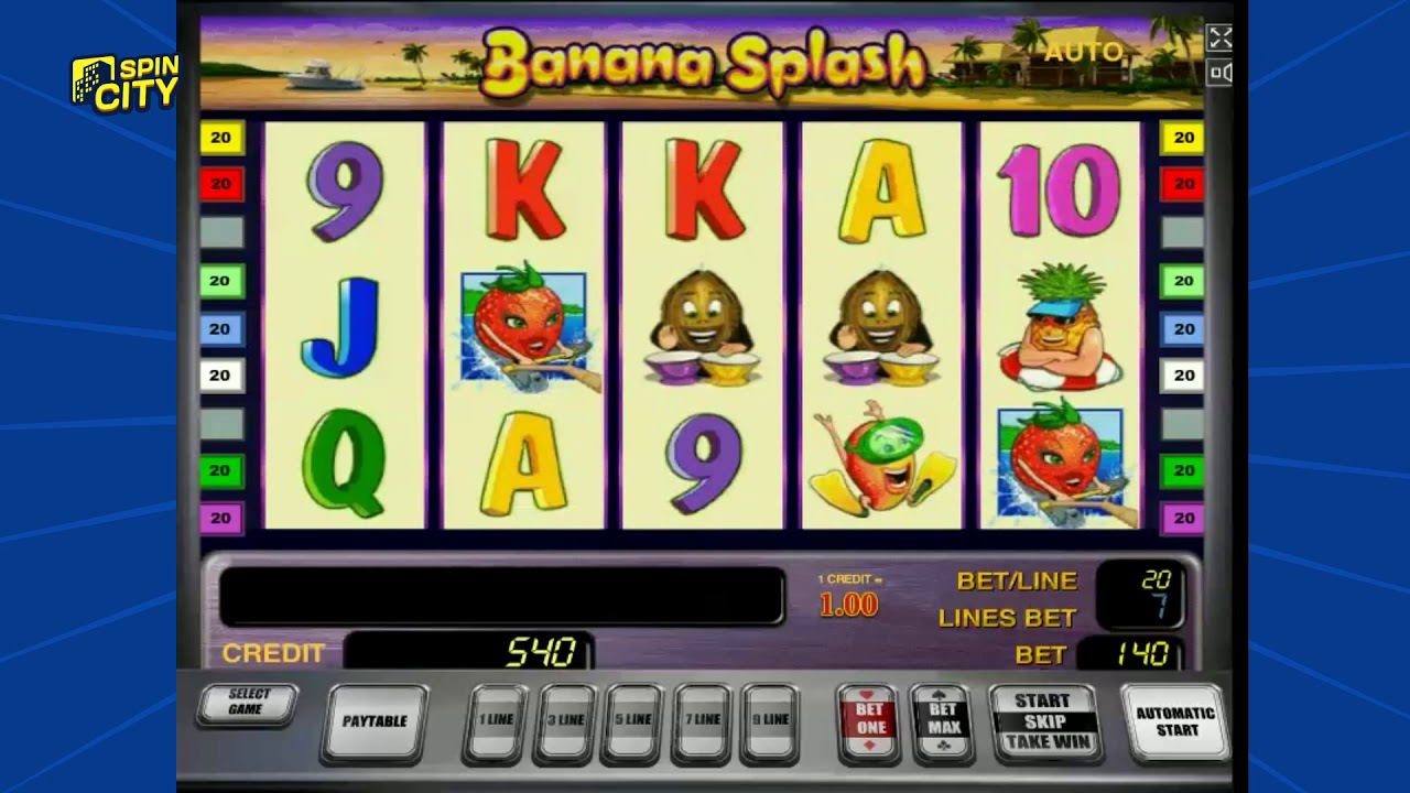 Игровой автомат Banana Splash — делайте ставки до победы