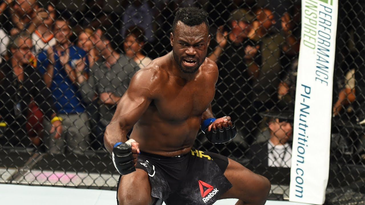 Top Finishes: Uriah Hall - YouTube