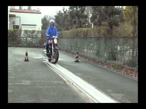 画像: バイク750 一本橋 90秒練習 youtu.be