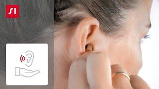 Como inserir seu aparelho auditivo Silk na orelha