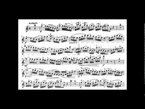 Bach, J.S. violin concerto in A minor BWV 1041