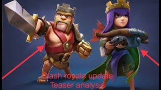 CLASH ROYALE NEW UPDATE: SPOOKY ARENA/BOSS FIGHT?!?! (Clash Royale Update Teaser Analysis)