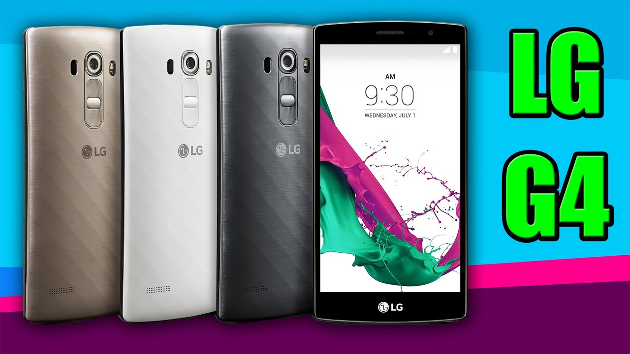 5433476340e2a3 LG G4 Android Smartphone [UNBOXING] (Better than iPhone 6 & Samsung Galaxy  S6)