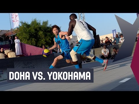 Doha (QAT) vs. Yokohama (JPN) - Pool Stage Full Game - 2014 FIBA 3x3 All Stars
