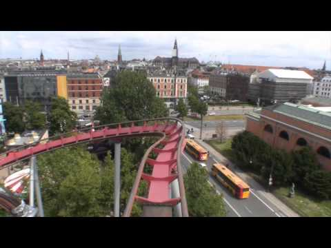 Daemonen Roller Coaster POV Onride Video The Demon Tivoli Ga