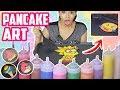 DIBUJOS QUE SE COMEN 😱 Pancake Art Challenge 💪 | Yarissa ♥