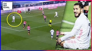 Eden Hazard was destroyed after his performance against Athletic Bilbao | Oh My Goal