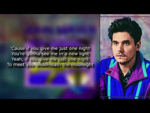 John Mayer - New Light Lyrics