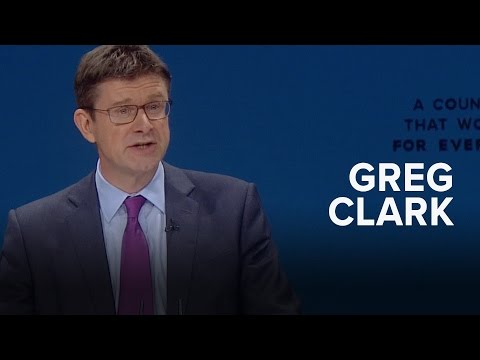Greg Clark: Speech to Conservative Party Conference 2016