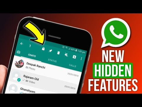 WhatsApp New Hidden Features 2019 - WhatsApp Fingerprint Lock