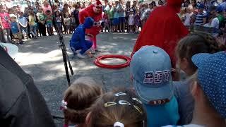 """Парк """"Козацкий остров"""" -большие мыльные пузыри шоу ко Дню защиты детей"""