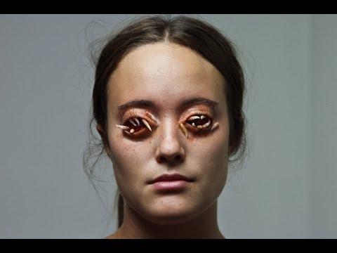 Maggot Eyes Makeup Tutorial: Part Two, Application