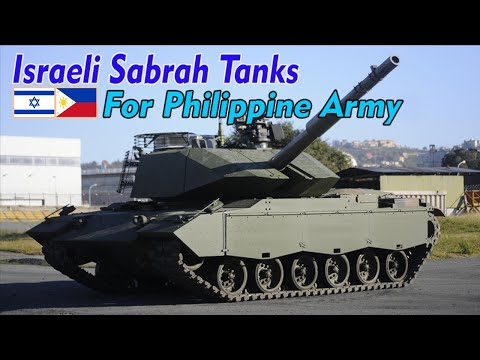 Israeli Sabrah Tanks Defeat The Tiger Tanks Indonesian For The Philippine Army!