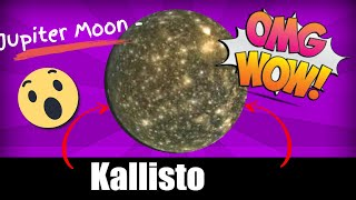 Jupiter Moon - Kallisto Callisto - Real Pictures -youtube.com/MoonMonde