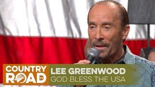 """Lee Greenwood sings """"God Bless the USA"""""""