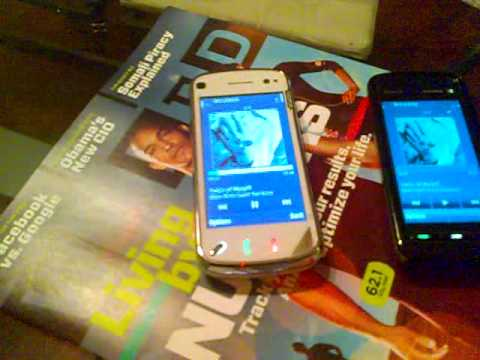 Speaker Test  Nokia N97 vs Nokia 5800 XpressMusic