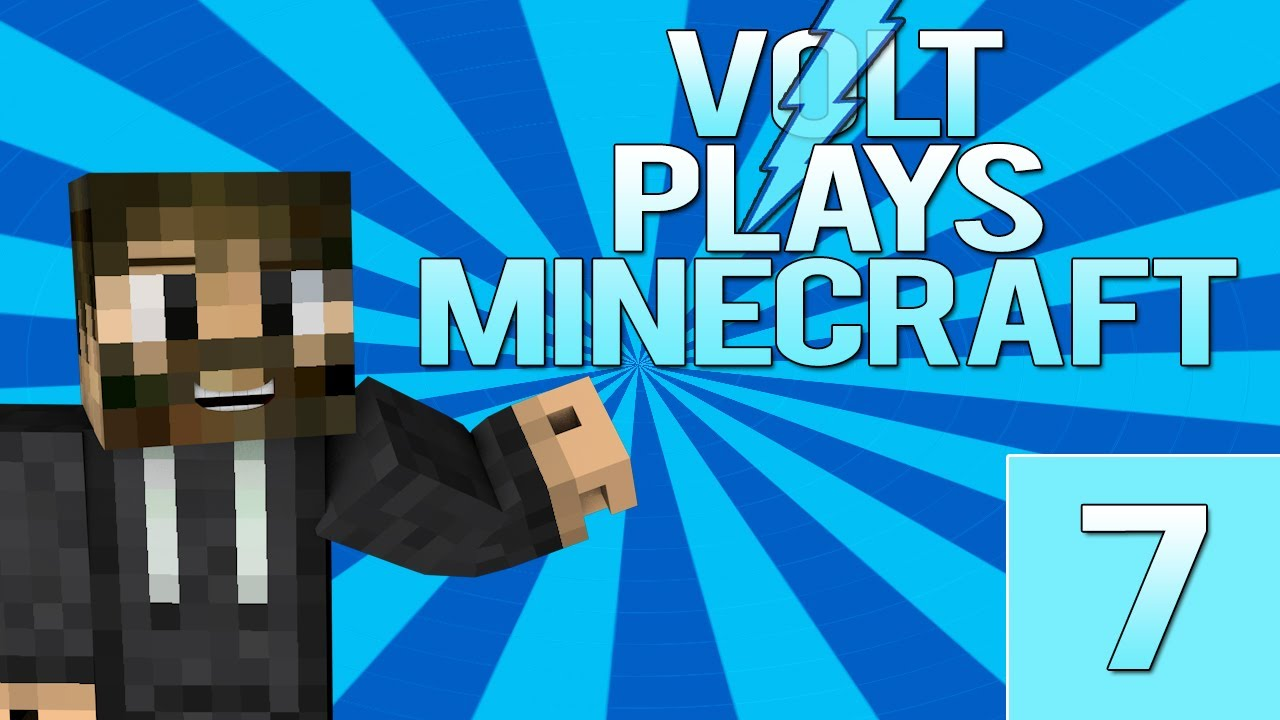 Volt Plays Minecraft Ep. 7: ADOPTION DAY & BLAZE FARM