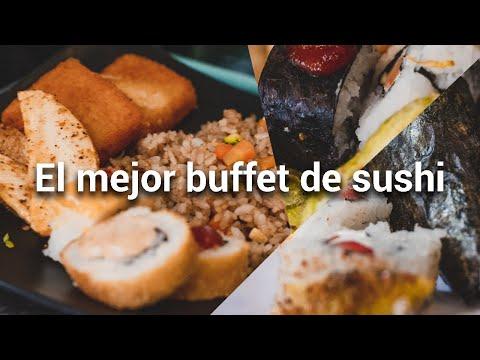 El Buffet de sushi más barato con @Viaja sin tanta lana - Diana y Aarón (DYA)