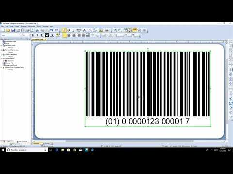 Working with Barcode Objects in BarTender