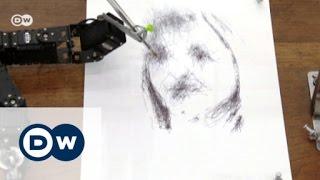 Robot art: machines that paint portraits | Euromaxx