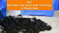 Raw Unprocessed Indian Hair Extensions Wholesale - BUY 100% Remy Virgin Temple Hair From India
