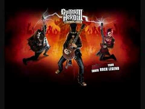 Guitar Hero 3 song Dragonforce - Through the Fire and Flames