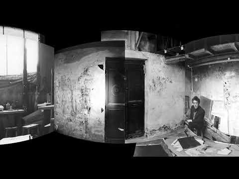 Alberto Giacometti's studio in 360°