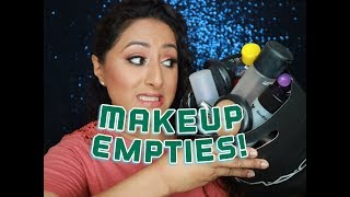 My Empties Part 1: Makeup  ** B Beautiful by Binita **
