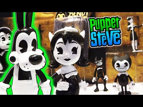 Bendy And The Ink Machine Action Figures, Plush, Ax Toy Fair Batim Exclusive 2018