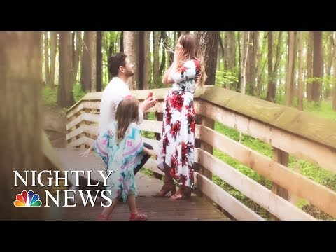 Man Proposes To Girlfriend -- And Her Daughter | NBC Nightly News