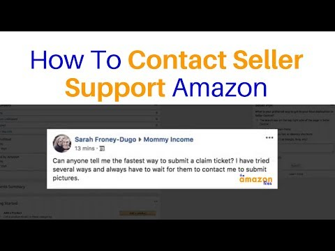 [UPDATED VIDEO LINK IN DESCRIPTION] How To Contact Seller Support Amazon