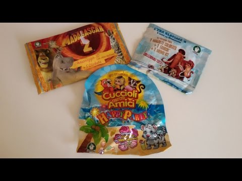 Nuove Blind bags!!! Cuccioli cerca amici party, Madagascar 2, L'Era glaciale 3!! col. Pacciadreams!!