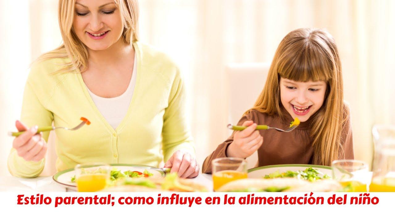 Estilos parentales; como influyen  en la alimentación de los niños