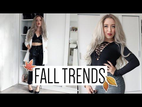 LOOKBOOK   Fall Fashion Trends (A/W 2015)