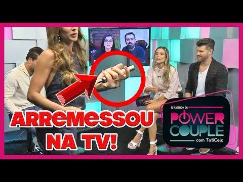 💥Campeã arregona! Nicole Bahls surta e abandona live com WebTVBrasileira   Power Couple Brasil thumbnail
