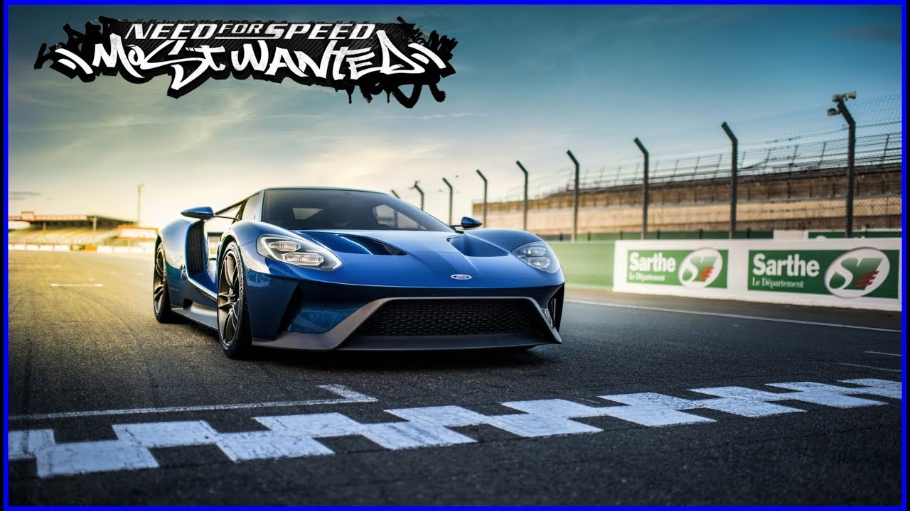 Tunando Ford Gt  Need For Speed Most Wanted